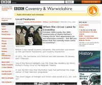 Monty Python - BBC Coventry