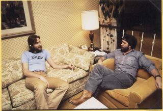 Interview with Mike Rutherford of Genesis. L.A. 1978